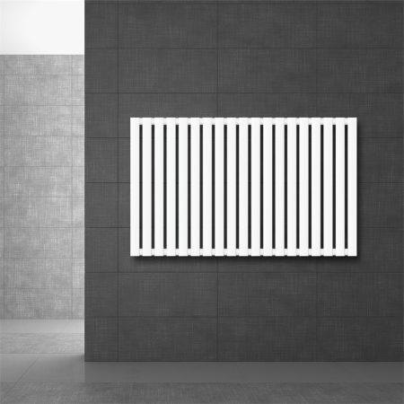Modern design radiátor 630 x 1030 mm fehér oldalsó csatlakozás