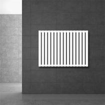 Modern design radiátor 630 x 865 mm fehér oldalsó csatlakozás