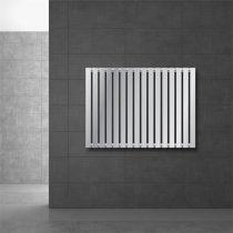 Modern design radiátor 630 x 865 mm króm oldalsó csatlakozás