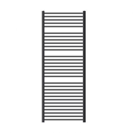 Törölközőszárító radiátor 750 x 1800 mm ívelt antracit oldalsó csatlakozással