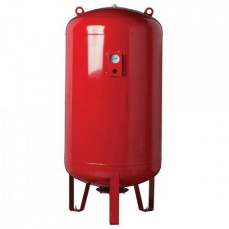 Hidrofor tartály 1500 liter álló membrános zárt rendszerű használati víiz tartály EPDM membránnal