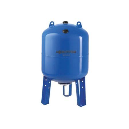 Hidrofor tartály 80 liter álló membrános zárt rendszerű használati víiz tartály EPDM gumimembránnal