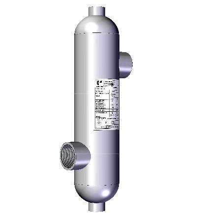Uszoda hőcserélő 20 kW