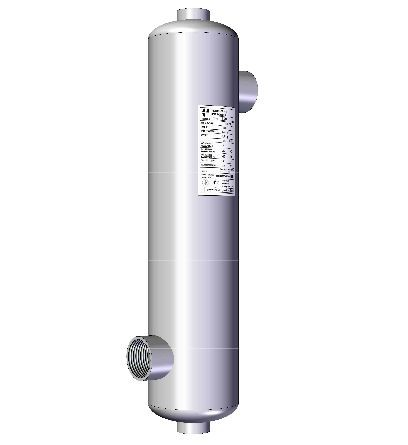 Uszoda hőcserélő 73kW