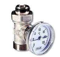 Csőhálózatba építhető hőmérő hőmérséklet mérő kontakt hőmérő fűtési rendszer