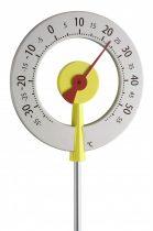 Analóg kerti hőmérő, mechanikus kültéri hőmérséklet mérő