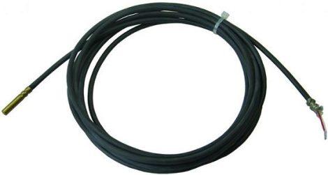 Hőmérséklet érzékelő szenzor PT1000 Hömérő érzékelő szenzor hőálló szilikon kábel