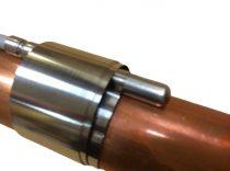 Hőmérséklet érzékelő rögzítő rugós acélszalag, többször felhasználható, áthelyezhető.