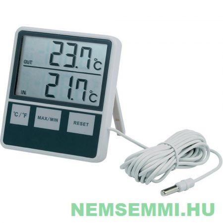 Digitális hőmérő 3 méter kábellel