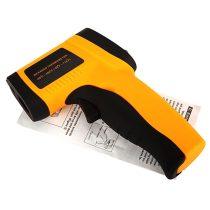 Infra hőmérő lézeres célzással. Érintésmentes infravörös hőmérséklet mérés