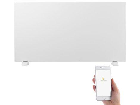 Padlóra állítható infrapanel Okos wifis konvektor Android  és iOS Alexa & Google Assistant alkalmazással