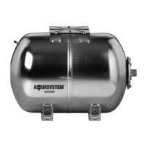Rozsdamentes hidrofor tartály 24 liter fekvő inox saválló membrános zárt rendszerű használati víiz t