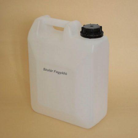 Fagyálló szolár folyadék nem mérgező 5 liter -72°C tömény napkollektoros és fűtés rendszerekhez.