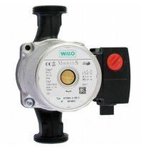 Keringető szivattyú Wilo RS 25/4 180 mm napkollektor rendszerek szivattyúja