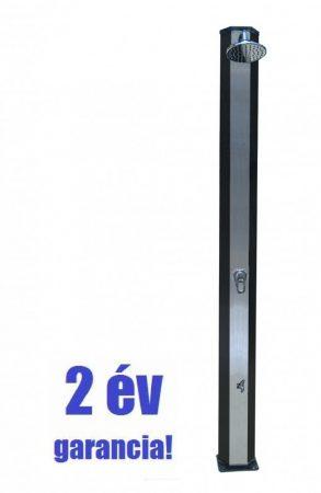 Extra alumínium szolár zuhany 2 év garancia! 30 literes, keverőcsap és lábmosó csap.