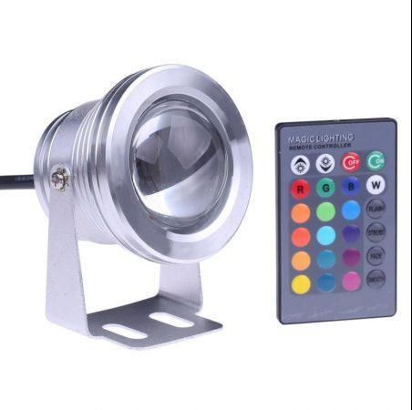 Színes  LED lámpa 12V