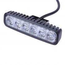 LED fényhíd hosszú fényvető 12V 18W LED fényszóró