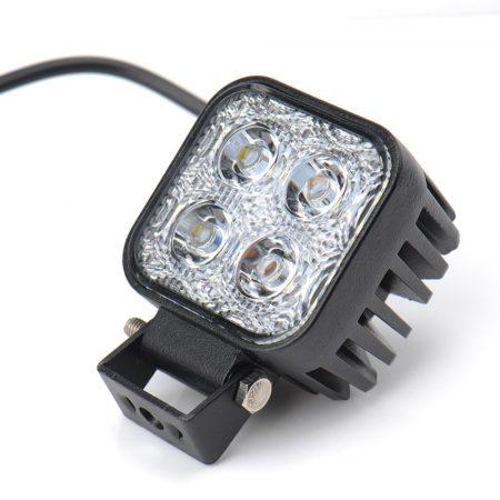 LEDLAMP Fényszóró, fényvető 12V 12W LED reflektor, munkalámpa