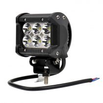 Ledes fényszóró szögletes 12-24V 18W LED