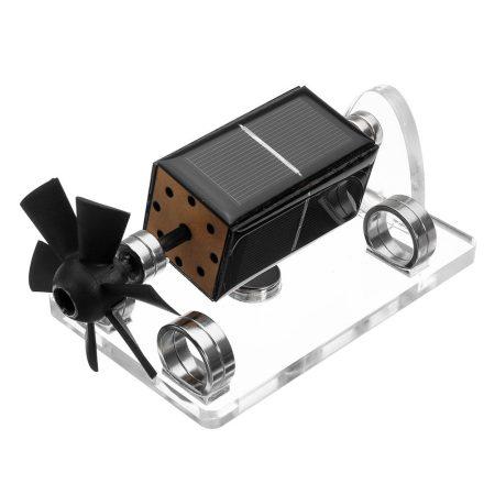 Napelemmel működő levitációs játék motor lebegő bemutató modell légcsavarral