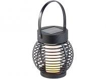 Lángutánzó napelemes Függő kerti lámpa lángeffektussal 51 LED 30 lm  lángforma, beépített akkumuláto