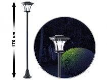 Napelemes kandeláber kerti lámpa napelemmel 170 cm 0,18W beépített akkumulátorral