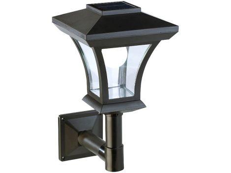 Napelemes LED fali lámpa 45 Lumen 0,3 Watt
