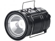 Napelemes kempinglámpa és powerbank 1200 mA akkumulátoros telefontöltő és zseblámpa
