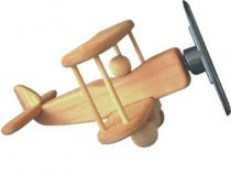 Napelemes repülő fa modell - napelem cella hajtja a propellert.