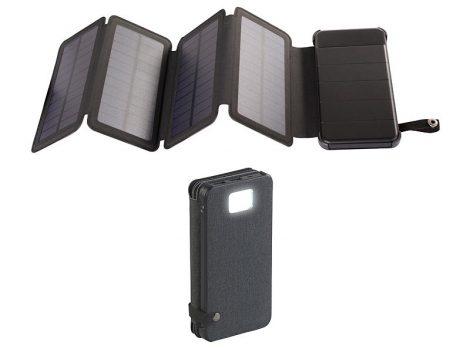 Napelemes hordozható töltő telefontöltő 10,5W