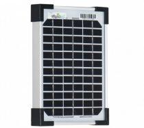 12V 5W 313x165x18mm napelem monokristályos