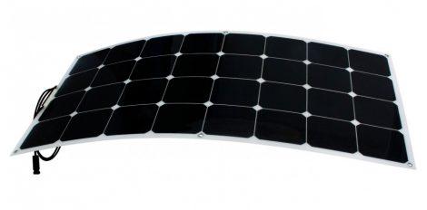 Hajlítható flexibilis napelem 12V 100W 1050x540x3mm monokristályos