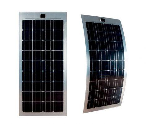 Hajlítható flexibilis napelem 12V 100W 1250x550x2mm monokristályos