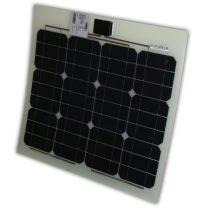 Hajlítható flexibilis napelem 12V 30W 550x550x2,5 mm monokristályos