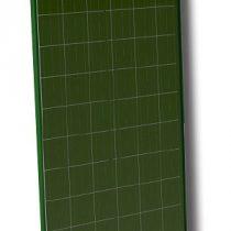 SZÍNES napelem 250W polykristályos zöld szín 37V  1645 x 990 x 35 mm zöld kerettel