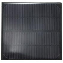 6V 4,5W 165x165mm kisméretű monokristályos napelem. Vízálló bevonattal, külön tokozást nem igényel!