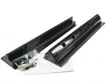 Napelem tartó műanyag sin 68 cm fekete - lakókocsi, lakóautó, hajó tetejére rögzítéshez