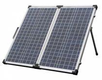 Hordozható napelem táska 12V 60W poliokristályos mobil napelem koffer