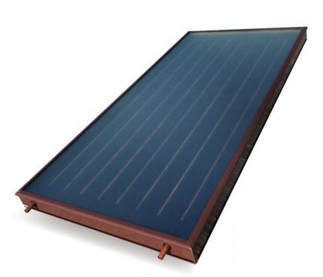 SUN H1T-0 extra nagy vízszintes irányba, vízszintesen fektetve szerelhető síkkollektor napkollektor