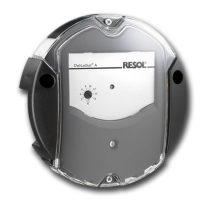Napkollektor vezérlés DELTASOL AX hőmérséklet különbség szabályozó.