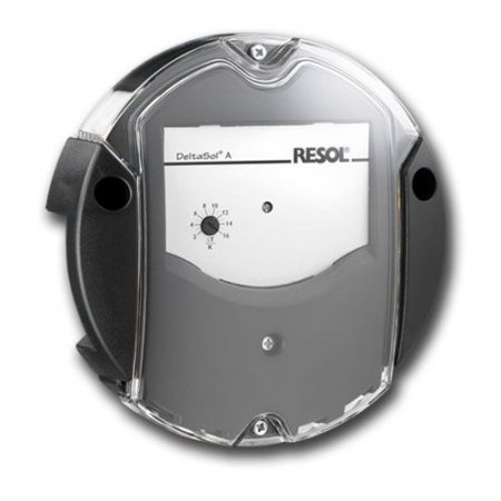 Napkollektor vezérlés DELTASOL AX hőmérséklet különbség szabályozó. Fűtés, szellőző vagy szellőztető