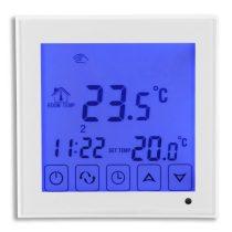 Beépíthető termosztát amivel tudja szobája fűtését szabályozni.