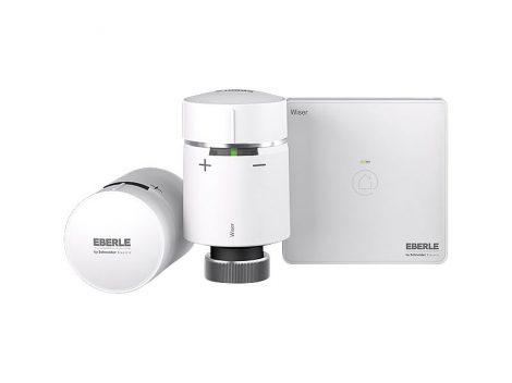 WISER Kezdőkészlet intelligens fűtéshez, 2 termosztáttal és hőelosztóval