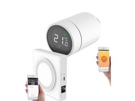 Intelligens radiátor termosztát alkalmazásvezérléssel hangvezérléssel ZigBee vezérlővel