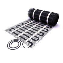 Elektromos padlófűtés alacsony beépítési magasságú fűtőszőnyeg 100 watt/m² 1,0 - 10,0 m²