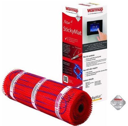 Extra vékony öntapadós fűtőszőnyeg elektromos padlófűtéshez 150W/m² 1,0 - 15,0 m²