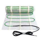 Elektromos padlófűtés hidegburkolat Fűtőszőnyeg padlólap alá 150 watt/m² 2 m²