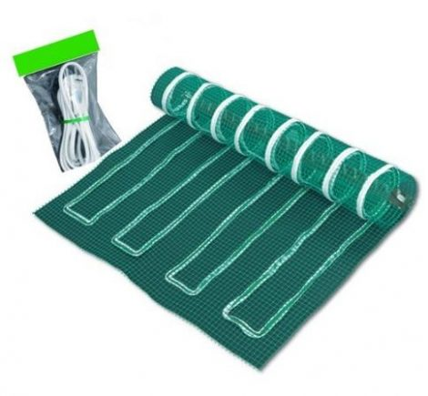 Szénszálas padlófűtés szőnyeg 100 W/m² 60 x 100 cm (0,6 m²)