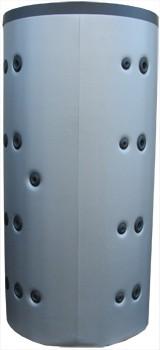 Puffer tároló 2 hőcserélős 2000 literes