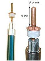 heta-pipe betét 14x62 mm